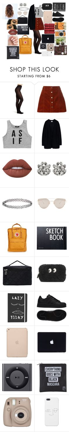 """""""Evangaline potter #15"""" by annaconley on Polyvore featuring Topshop, Dorothy Perkins, Dimepiece, Acne Studios, Lime Crime, Dolce&Gabbana, Accessorize, Gentle Monster, Fjällräven and Design Letters"""