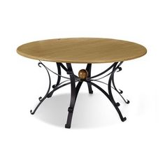 Shop for Artefama Steel 59-inch Round Dining Table. Get free shipping at Overstock.com - Your Online Furniture Outlet Store! Get 5% in rewards with Club O!