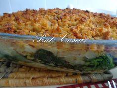 Prato Caseiro: Bacalhau com broa e espinafres