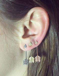 Shooting Arrow Earrings
