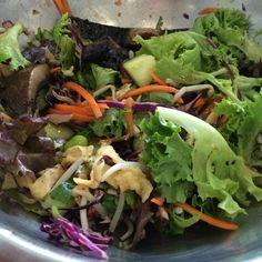 Salad from cityslickers Miami