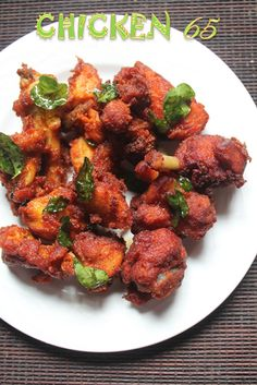 Chicken 65 is my favourite. I made it quite a different ways and posted it here. Check out my spicy chicken 65 and my crispy chicke...
