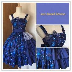 お取置き 星のドレス
