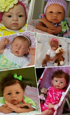 Some of my baby doll creations