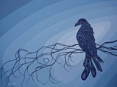 Nightfall, by Robbie Craig Paint Photography, Indigenous Art, Aboriginal Art, Conceptual Art, Spirit Animal, Beautiful Birds, Dark Art, Sculpture Art, Photo Art