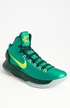 Nike KD V Basketball Shoe (Men) available at Nordstrom awesome Nike Shoes Cheap, Nike Free Shoes, Nike Shoes Outlet, Running Shoes Nike, Cheap Nike, Kd Shoes, Sock Shoes, Girls Shoes, Sports Shoes