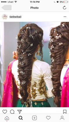 New hair wavy long wedding coiffures ideas Indian Hairstyles, Bride Hairstyles, Headband Hairstyles, Trendy Hairstyles, Amazing Hairstyles, Bridal Hairdo, Hairdo Wedding, Hair Scarf Styles, Curly Hair Styles