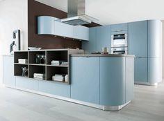 Cuisines schmidt cuisines ouvertes et modernes cuisine for Cuisine amenagee bleue