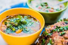 vegetarische curry met zoete aardappel