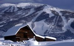 Steamboat Springs, Colorado...we've only been once, but it was an amazing ski town!!