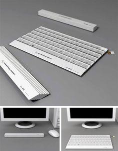compacting keyboard