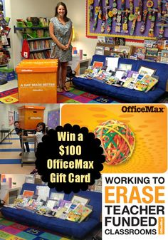 $100 OfficeMax gift card to giveaway