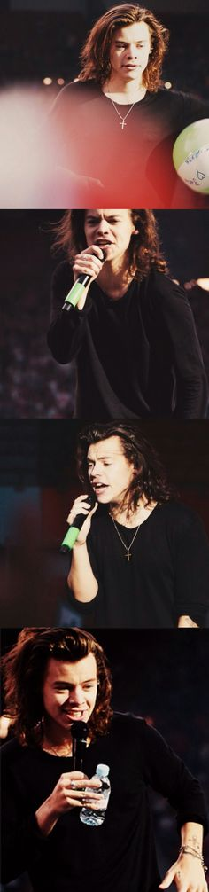 Harry Styles ❥ OTRA Vienna Golden hair boy>>> HOW IS HIS HAIR MORE PERFECT AND PRETTIER THAN MINE?