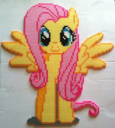 Fluttershy - birthday present for my friend by ~cardinalchang on deviantART
