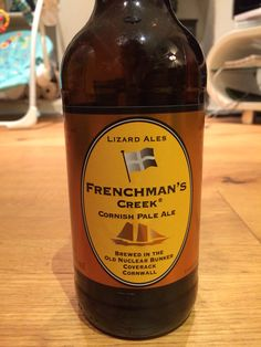 FRENCHMAN'S CREEK CORNISH PALE ALE | Lizard Ales | Coverack, Cornwall: 4.8% ABV     ✫ღ⊰n