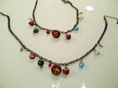 Solar System beaded necklaces. Crafty nerds rejoice!