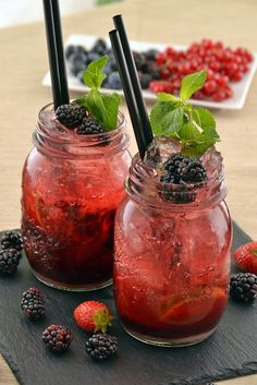 Starbucks copycat recipes: These Very Berry Hibiscus Refresher Drinks from Fit and Fab are a delicious, cost-effective alternative to the store-bought version!