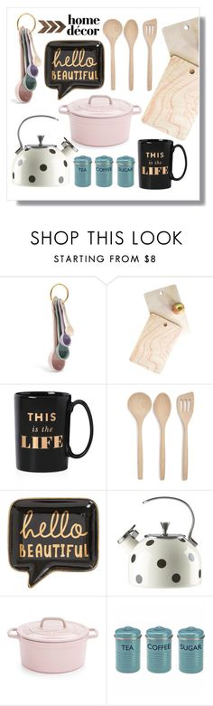 """""""Untitled #34"""" by raniasp ❤ liked on Polyvore featuring interior, interiors, interior design, home, home decor, interior decorating, DENY Designs, Kate Spade, Core Home and Martha Stewart"""