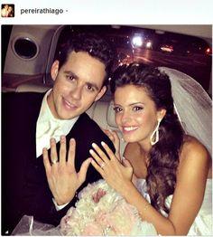 O casamento de Thiago Pereira