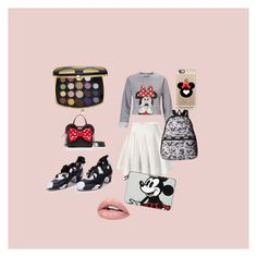 """""""Day 3 Disney challenge Minnie style💅🏻"""" by beatrix04 on Polyvore featuring moda, Sephora Collection, Zoe Lee, Kate Spade, Miss Selfridge, LeSportsac, Casetify e minnie"""
