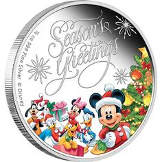 The Chain Gang. Country of Issue - Niue. This contemporary style Pluto 1 oz Silver coin forms part of the release of six. Mickey & Friends Limited Edition Disney Collectible coins from New Zealand Mint. Disney Christmas Movies, Disney Specials, Coin Shop, Friends Season, Gold And Silver Coins, Mint Coins, Mickey Mouse And Friends, Disney Drawings, Coin Collecting