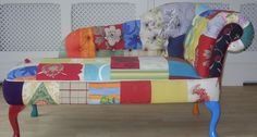 Flower Power | Bespoke Patchwork Chairs and Chaise Longues from Patchwork Bliss
