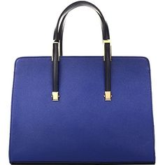 Dasein(R) Briefcase Tote with Removable Shoulder Strap ($43) ❤ liked on Polyvore featuring bags, handbags, tote bags, handbags tote bags, tote handbags, blue tote bag, tote hand bags and tote bag purse