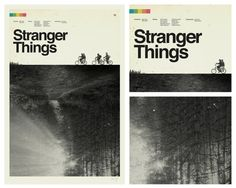 STRANGER THINGS Inspired Art Print Movie by CONCEPCIONSTUDIOS