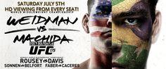 UFC 175, this Saturday!