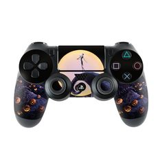 Nightmare Before Christmas PlayStation 4 Controller Skin - Covers ...
