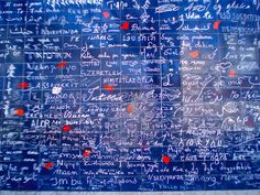 Paris, wall of love- I love you written in over 300 languages