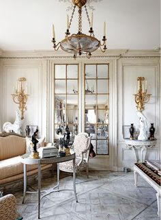 The goal of this blog is to offer interior design inspiration and advice on such design elements as paint color combinations, lighting, window treatments, furniture and accessory selection, architectural elements, design trends, do it yourself projects for the home and general decorating tips for interiors from Classical Old World to Mid-Century Modern.