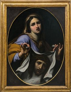 theraccolta: Saint Veronica - Florentine Master Veil Of Veronica, St Veronica, Jesus Face, Renaissance Art, Roman Catholic, Jesus Christ, Saints, Fine Art, Artwork