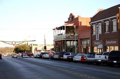 San Angelo, Texas - Eggemeyers downtown and all the other great shopping for antiques and collectibles.