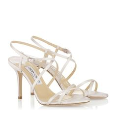 Jimmy Choo Elaine - wedding shoes They might be too white for the dress... need to see them next to the dress