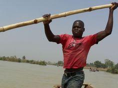 Nigeria  River crossing