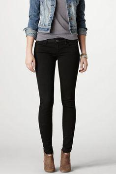 AEO Jegging (Jeans), Women's, Size: 16 Long, Black
