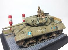 "M10 Wolverine 2DB ""Strasbourg"" M10 Wolverine, Model Tanks, Strasbourg, Division, Diorama, Military Vehicles, Miniatures, Models, Comment"