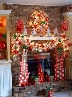 Mantel Decor For Christmas christmas decorator 2 | mantels decor, mantels and christmas