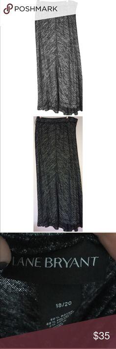 Lane Bryant dress size /1820 black and white lines Lane Bryant dress size 18/20 black and white lines super cute Lane Bryant Skirts