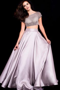 Jovani Prom 59818 2020 Prom Dresses, Pageant, Homecoming and Formal Dresses Prom Dresses Jovani, Prom Dresses With Sleeves, Ball Gowns Prom, Pageant Dresses, Formal Dresses, Prom Ballgown, Two Piece Long Dress, Military Dresses, Beautiful Gowns