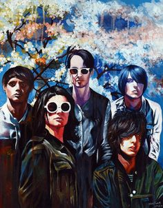 The Horrors painting by Kate Powell Art