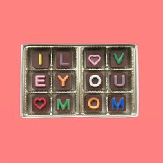 Unique Idea Mom Gift for Mothers Day from Son Daughter in Law Fun Gift for Stepmother Single Mom I Love You Mom Jelly Bean Chocolate Cube