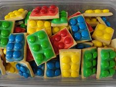 lego cookies!!!! birthdays, first day of school, snow days, it's-time-for-awesome days...
