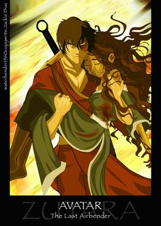 I don't ship but this is very fiery I see it as zuko protecting Katara for his dear friend Aang. Katara Y Zuko, Avatar Zuko, Team Avatar, The Last Avatar, Avatar The Last Airbender Art, Prince Zuko, Avatar Series, Iroh, Korrasami