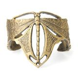 Very cool designs!  Nouveau Dragonfly Cuff