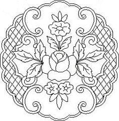 Pergamano šablony - free pattern - Kateřina Horáková - Picasa Web Albums: