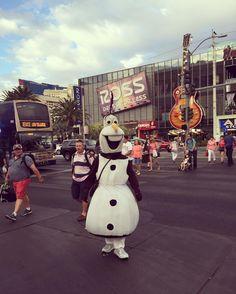 Instagram의 ㅂㅂㅏ님: #미국서부#LAS#lasvegas#여행#휴가#라스베가스#호텔투어#울라프#귀여워#여행스타그램#