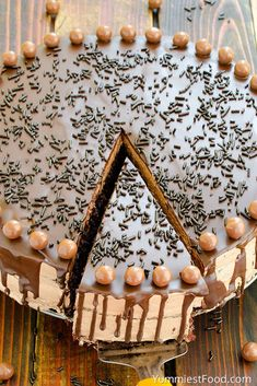 The BEST Chocolate Cake - Cutted