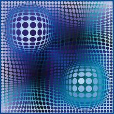 Victor Vasarely. El nacimiento del Pop Art. Museo Thyssen Bornemisza